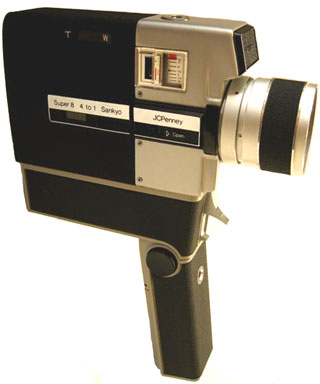 super 8 database, cameras jcpenney