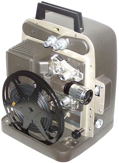 super 8 database, projectors bell