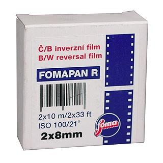 Fomapan - schwarzerweisser Normal 8-Film direkt vom tschechischen Hersteller