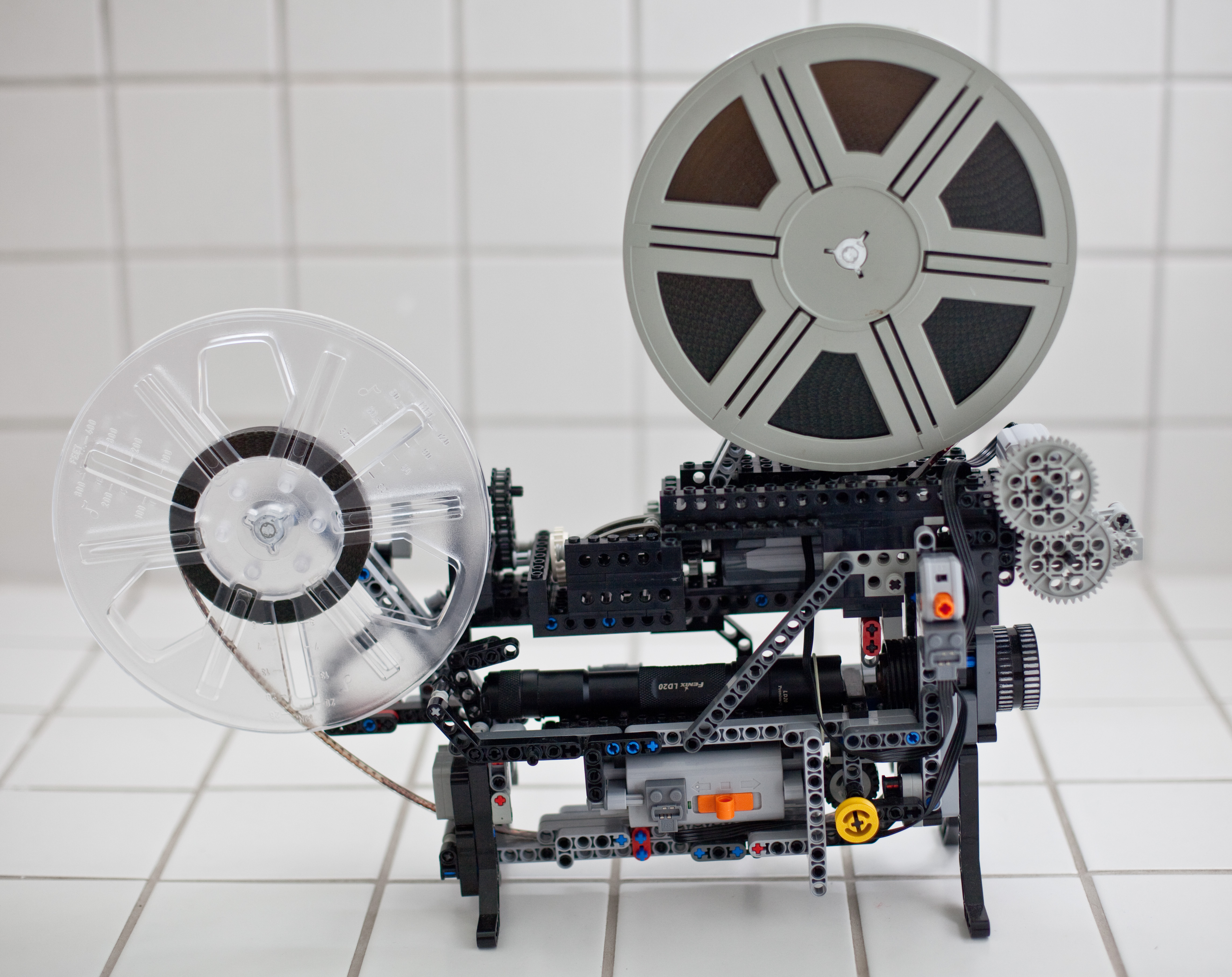 Lego Technic Super-8 Projektor | filmkorn