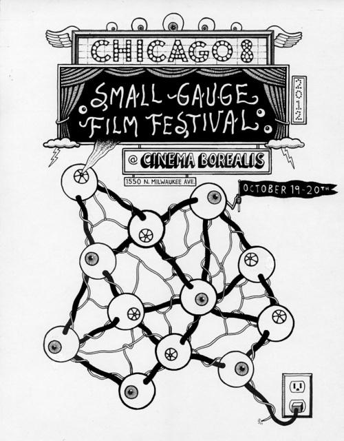 Chicago 8-Festivalplakat