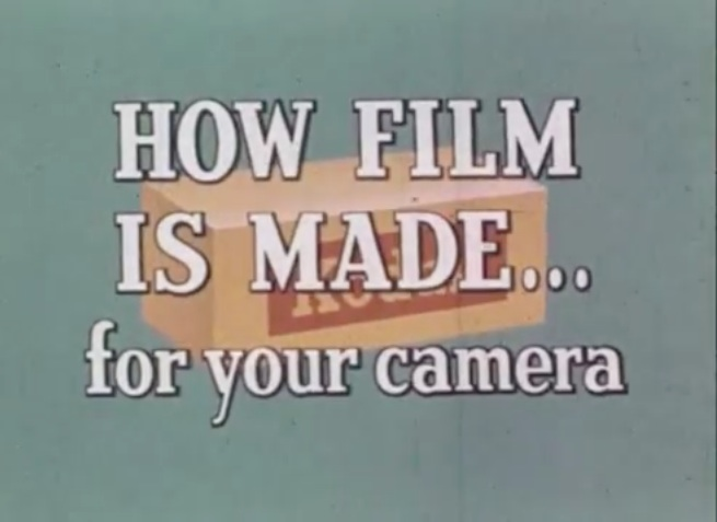 Kodak 1958: Wie Film gemacht wird