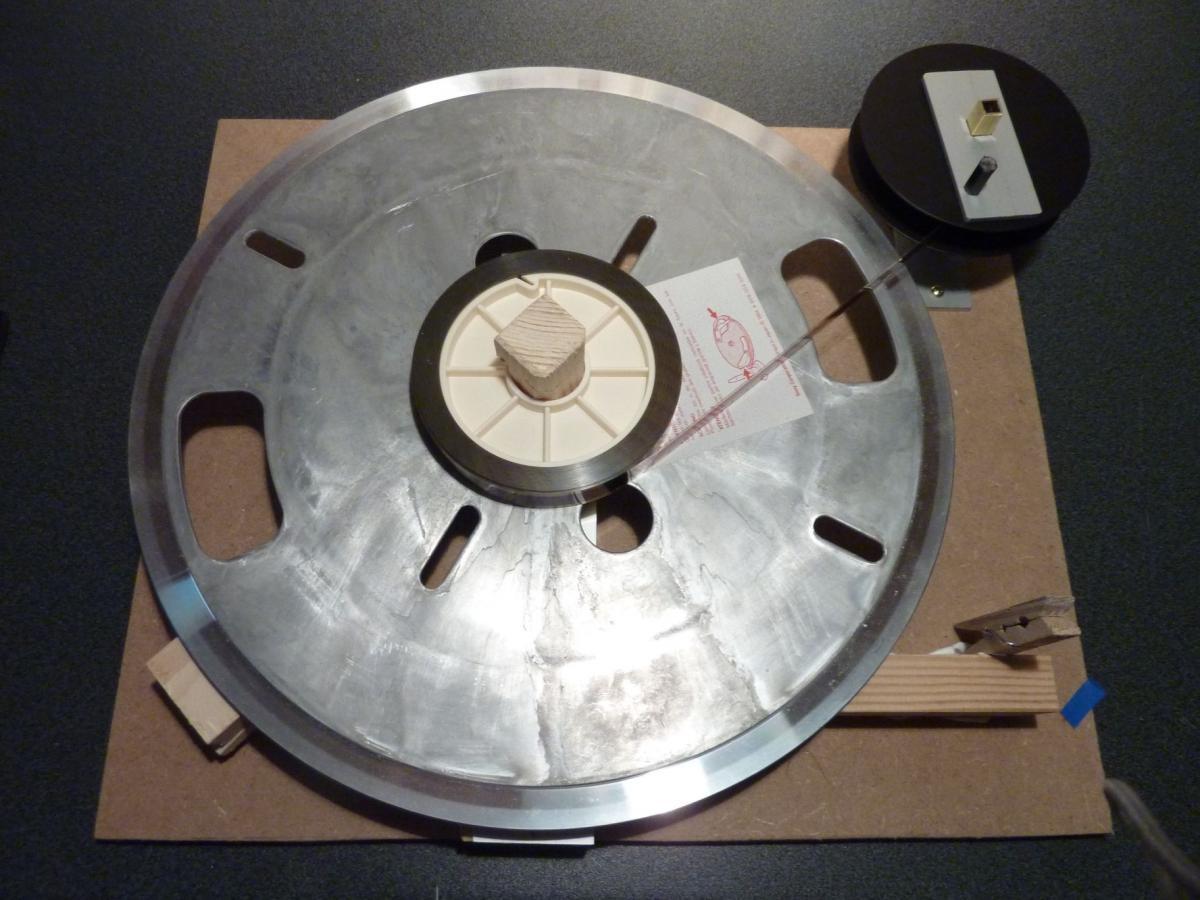Konfektionierungshilfe für 16mm Meterware