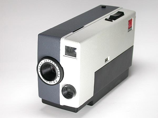 Einfacher Kasten: Die Kodak Instamatic M4 von 1965 (Foto:  K. Tauber)