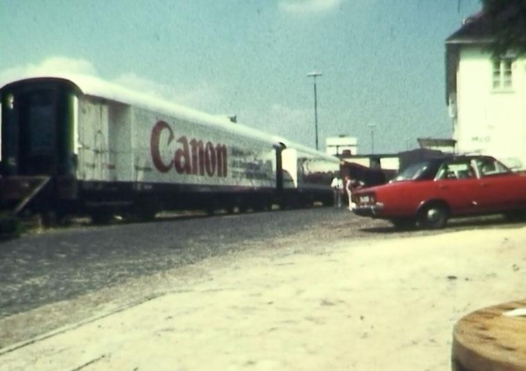 """Canon Filmschule"": Bremen Hbf, 1979, auf Super 8"
