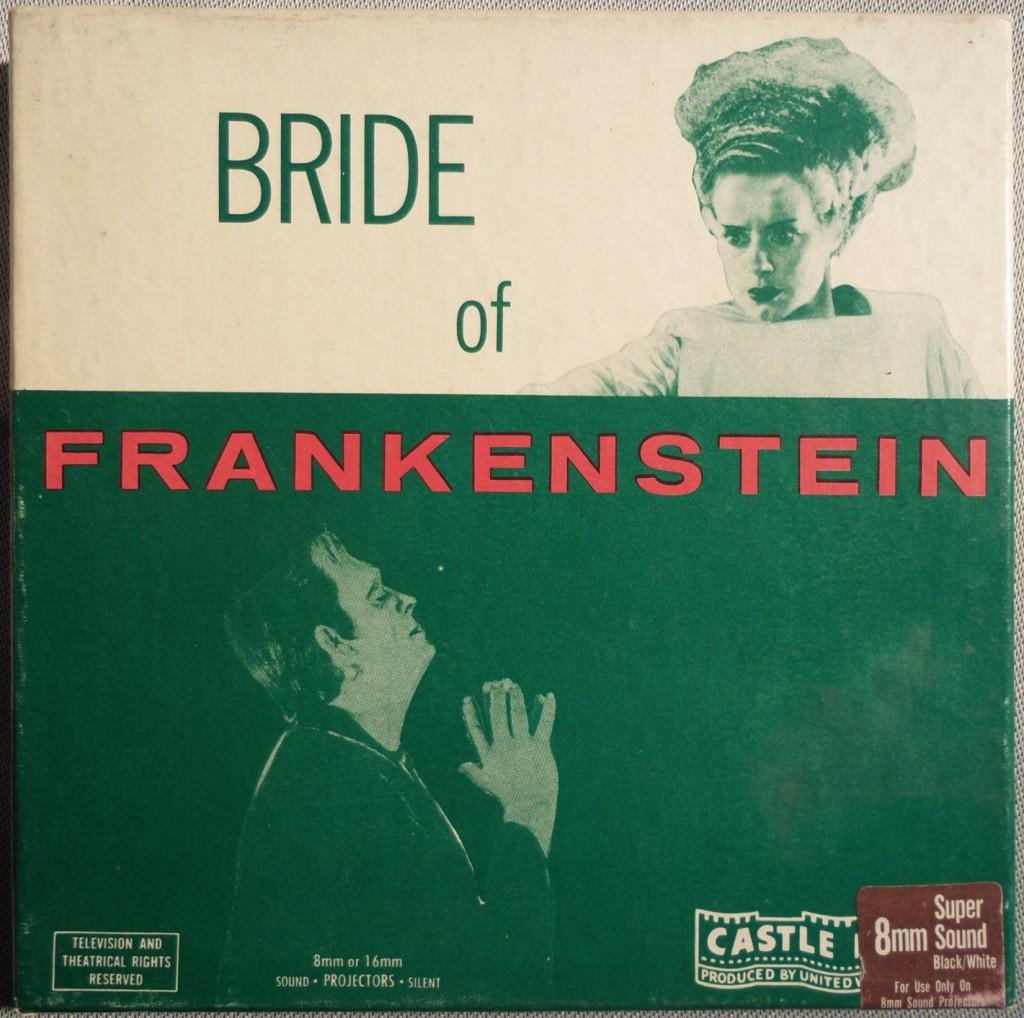 Die 60m-Schnittversion des zweiten Frankenstein-Films von 1935 mit modern-sachlichem Cover