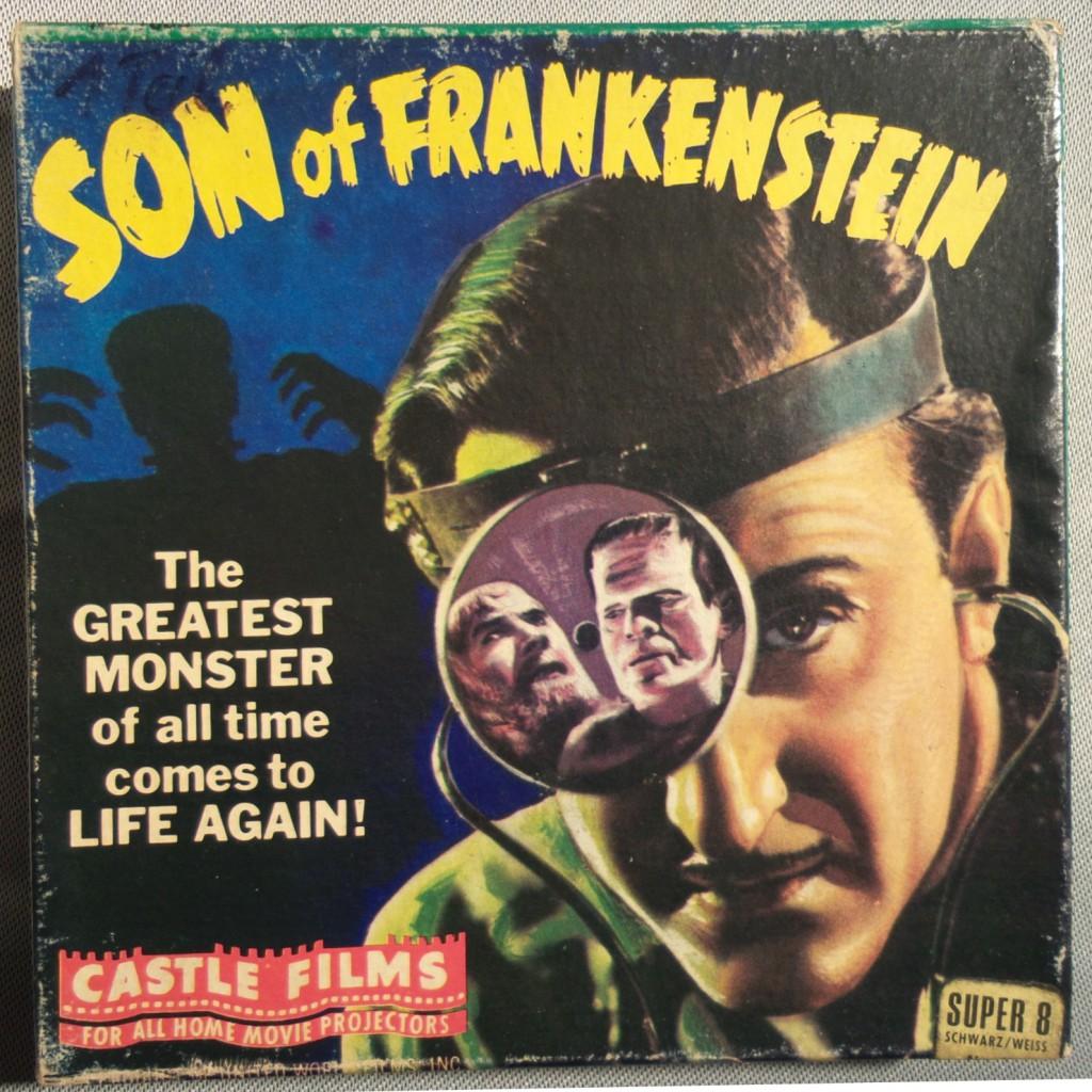 Im Gegensatz dazu die reisserische Aufmachung des dritten Frankenstein-Films von 1939 - der letzte Film mit Boris Karloff in der Rolle des Monsters