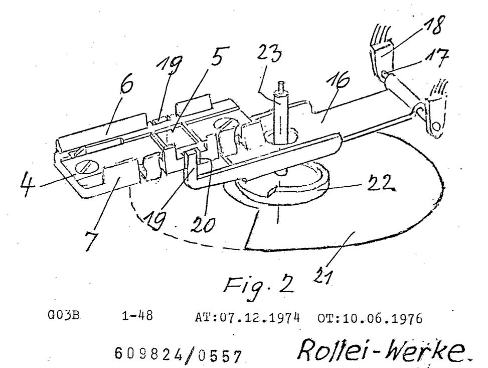 Patent verpennt: Die schwingende Andruckplatte