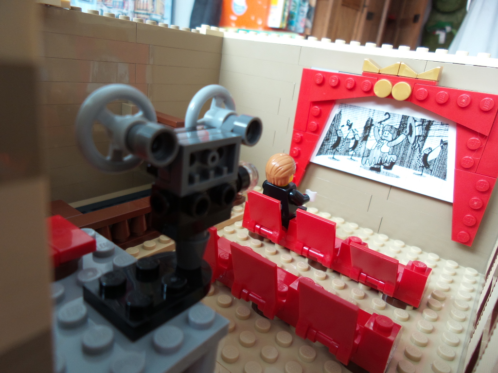 Klassisch-Analoge Filmprojektion im Palace Cinema
