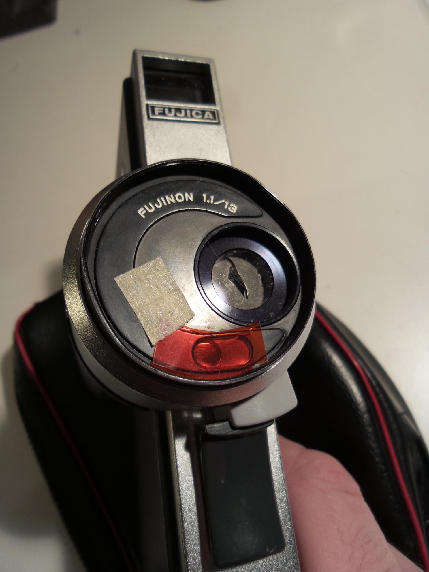 Belichtungskorrektur bei der Fujica AX100