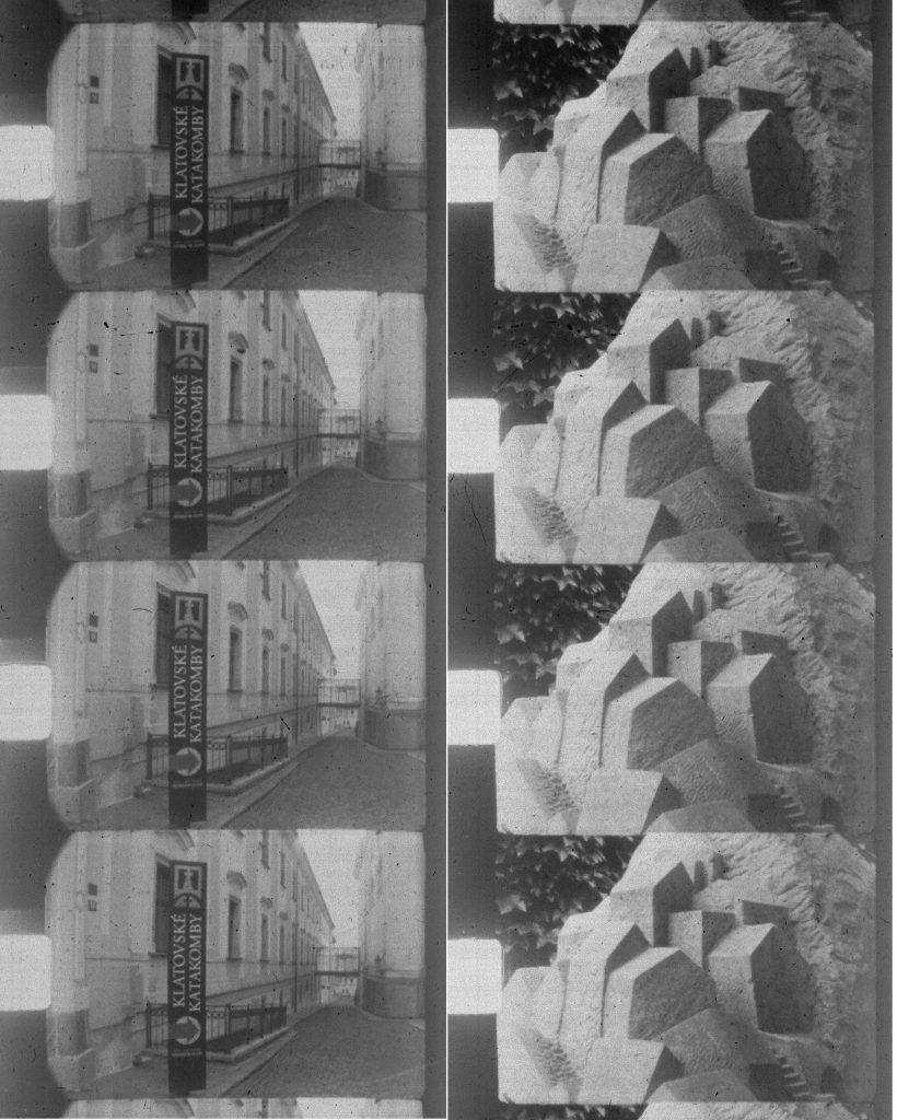 Vergrößerungen aus dem Originalfilm