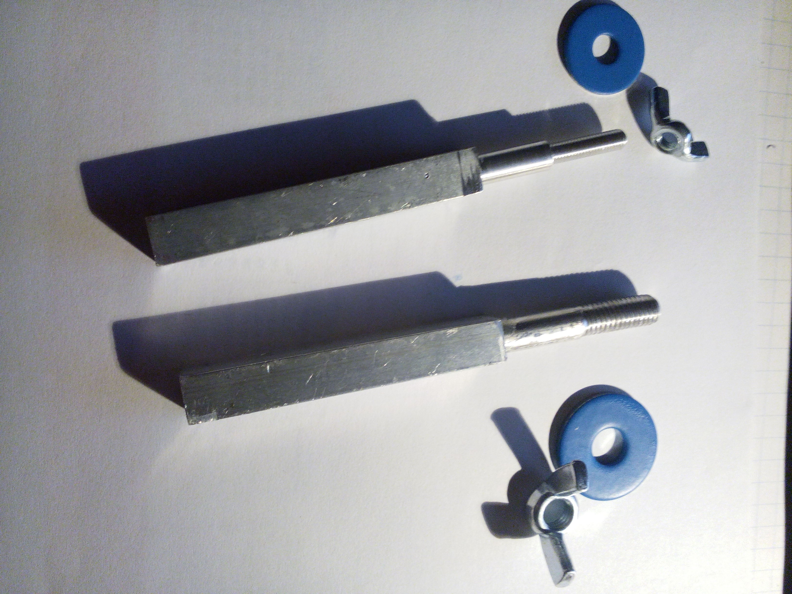 Spulendornadapter: DS 8 10m Spule auf 16mm Umroller