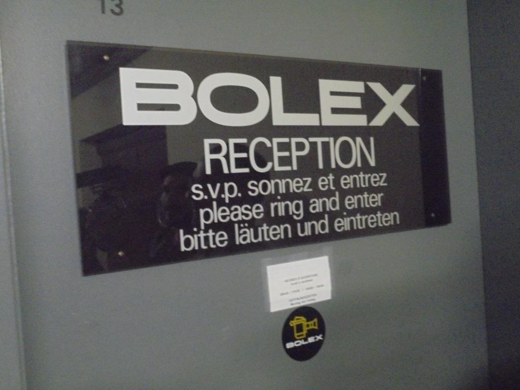 Inside Bolex