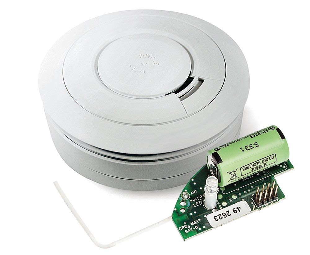 A smoke detector for the darkroom