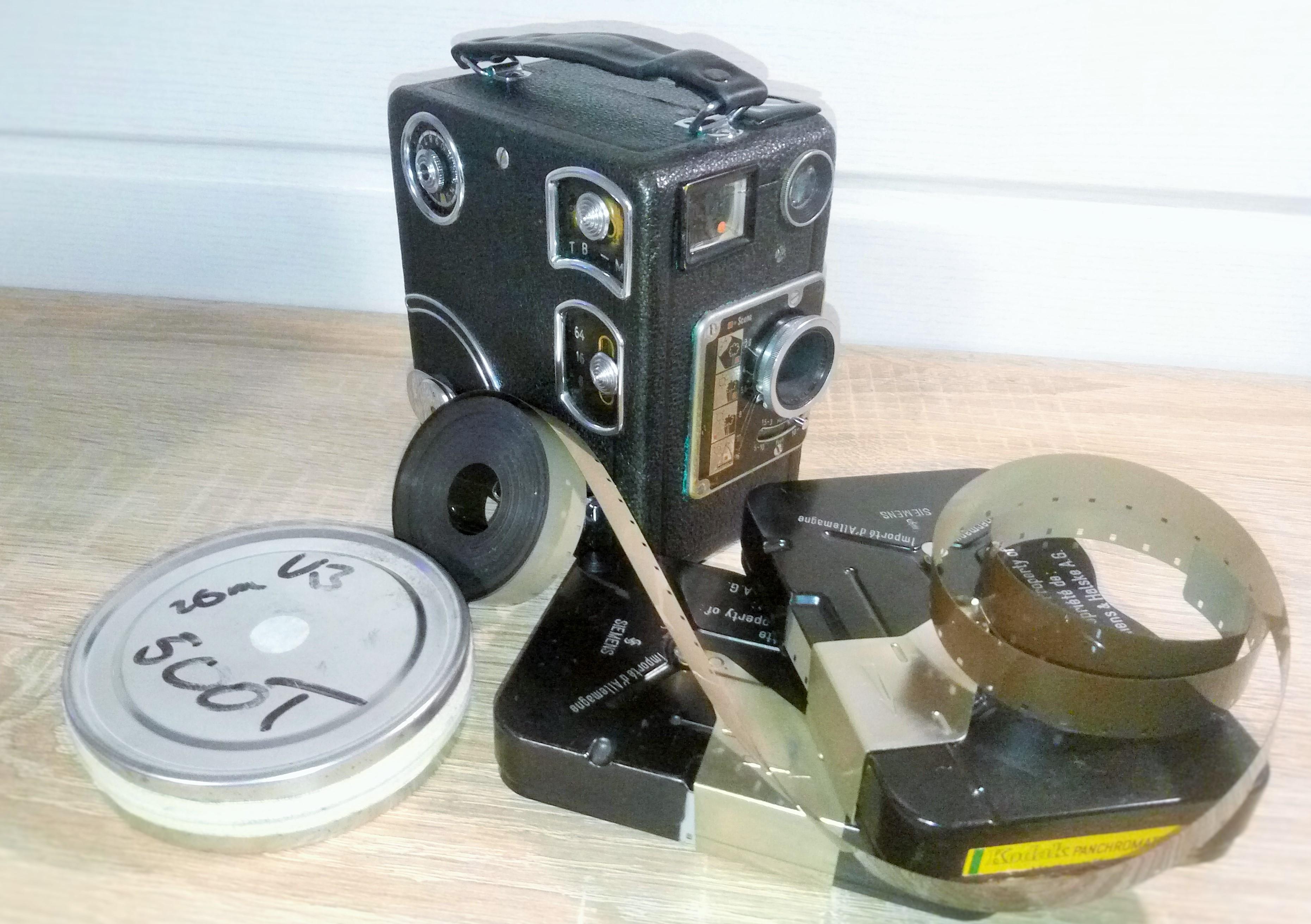 Siemens 16mm Filmkassetten wiederbefüllen