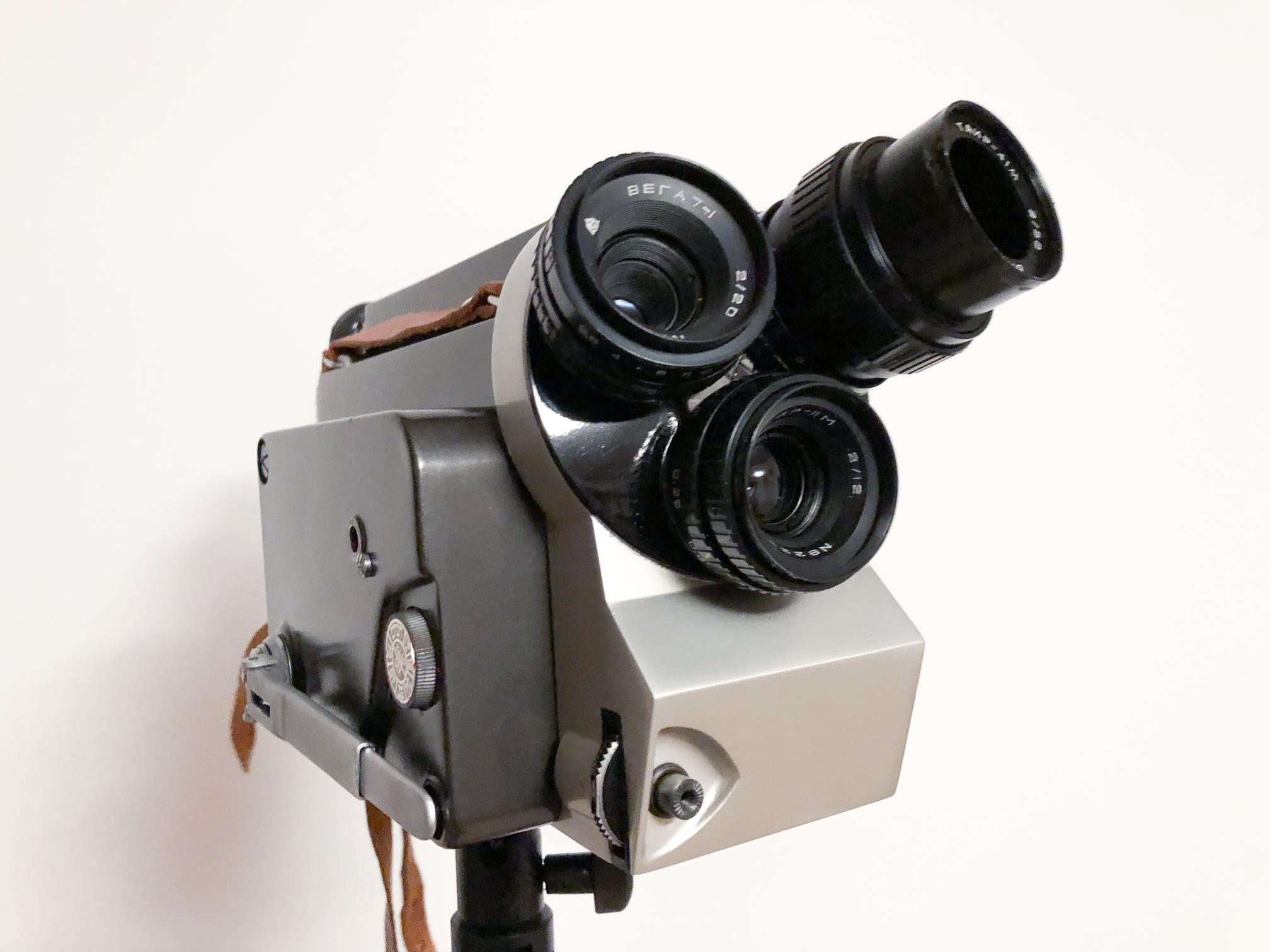 Klein, und doch so fein: Die 16mm-Kamera Kiew 16U
