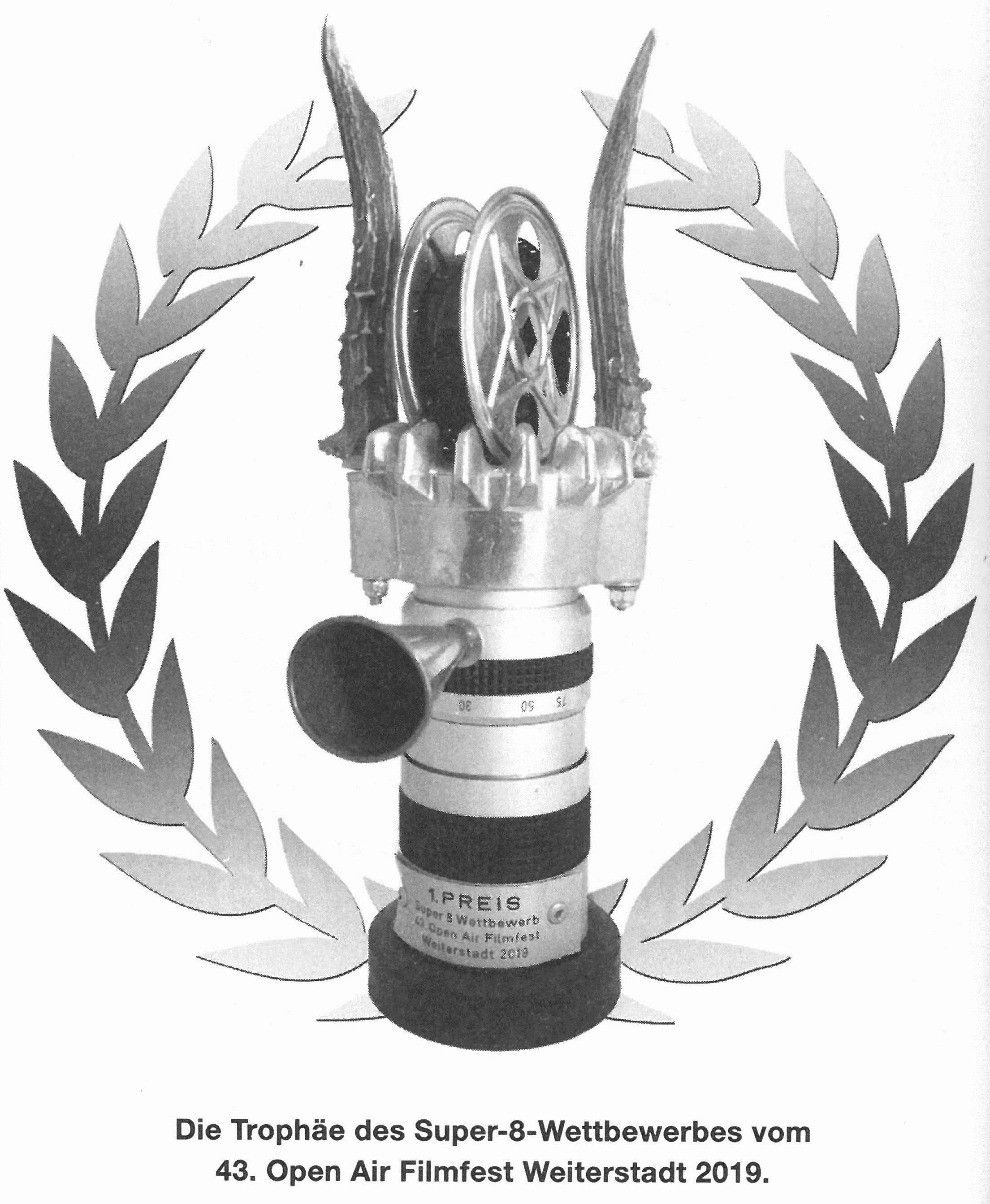 Die Gewinner des Super-8-Wettbewerbs  Weiterstadt 2019