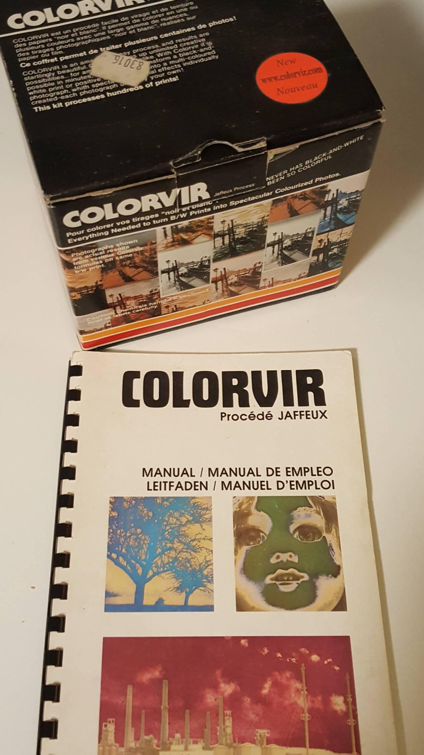 S/W-Film colorieren – Ein Versuch mit Colorvir