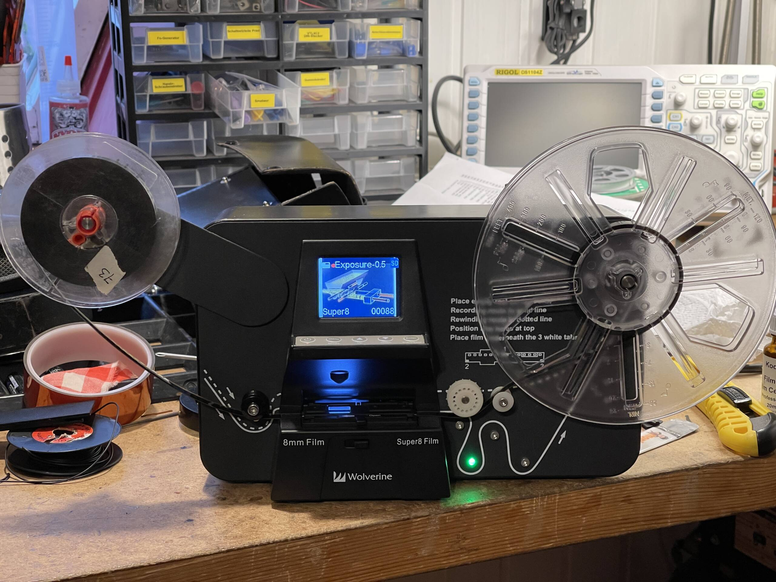 Modification of the Wolverine Pro Film Scanner