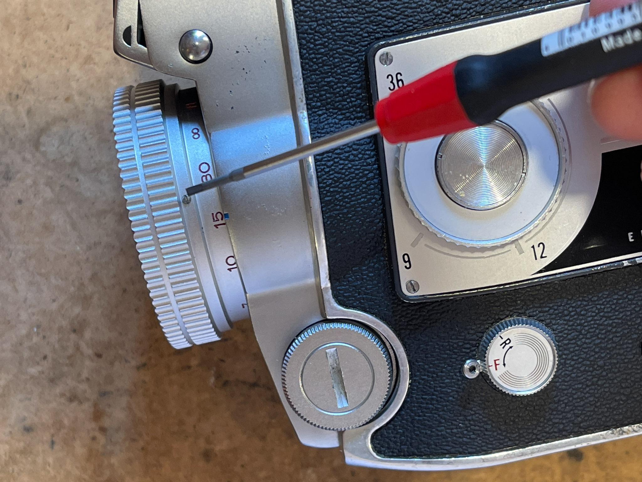 Elmo C-300 Reparatur Belichtungsmesser