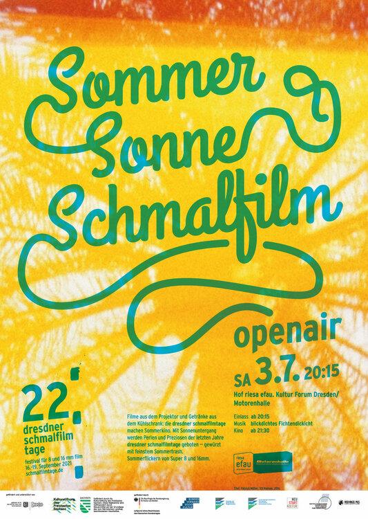 Narrow film open-air in Dresden